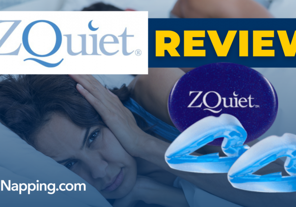 ZQuiet Review - Anti Snoring Sleep Aid - FDA Cleared and BPA Free